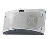 King Controls Standard Bluetooth LED Outdoor Speaker & Light White